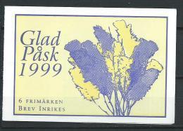 Suède 1999 Carnet C2078 Neuf Pâques - Carnets