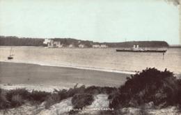 R187579 Poole. Branksea Castle. The Dainty Series - Cartes Postales