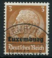 BES. 2WK LUXEMBURG Nr 1 Gestempelt X889FD6 - Besetzungen 1938-45