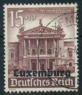 BES. 2WK LUXEMBURG Nr 39 Gestempelt X889FEE - Besetzungen 1938-45