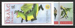 Suède 2000 Carnet C2136 Neuf Année Du Dragon - Carnets