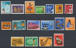 Zambia - Zambie 1964 Année Complète  * MVLH - Zambie (1965-...)