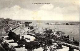 MALTE  -   LE  GRAND  PORT   De MALTE - Malte