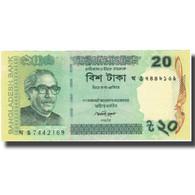 Billet, Bangladesh, 20 Taka, 2014, 2014, NEUF - Bangladesh