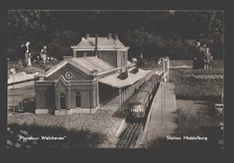 Middelburg - Miniatuur Walcheren - Station Middelburg - Trein / Train / Zug - Middelburg