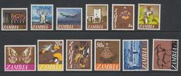 Zambia - Zambie 1968 Série Courante  * MVLH (1n Au 10n) ***MNH (15n Au K2) - Zambie (1965-...)