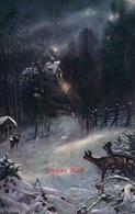 Fromme L. Joyeux Noël, Paysage D'hiver (25.12.07) - Illustrateurs & Photographes