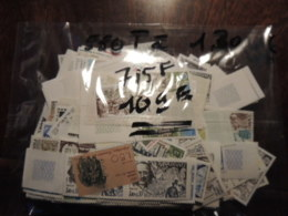 50 % DE LA FACIALE TIMBRE DE FRANCE  NEUFS POUR AFFRANCHIR OU POUR COLLECTION 715F OU 109€ - Other