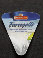 EGYPT -Cheese Label Of FARAGELLO - Fromage