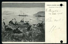 1908 Expédition Antarctique CHARCOT Pourquoi Pas Vers Puenta Arena Chili - Unclassified