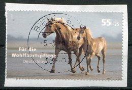 Deutschland Michel-Nr. 2635 Vollstempel Auf Briefstück - BRD