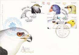 Portugal-FDC- Aves - FDC