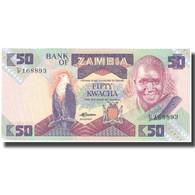 Billet, Zambie, 50 Kwacha, Undated (1986-88), KM:28a, NEUF - Zambie