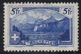 SUISSE - N°143 - 5F BLEU  - NEUF SANS TRACE DE CHARNIERE - GOMME CRAQUELEE - COTE 115€ - Switzerland