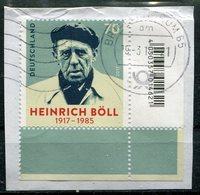 Deutschland Michel-Nr. 3350 Eckrand Vollstempel Auf Briefstück - BRD