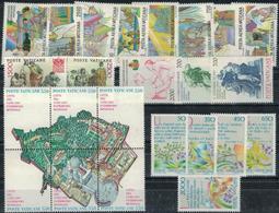 VATICANO 1986 Annata Completa 24v, Nuovi Gomma Integra Include Serie PA, MNH** - Vatican