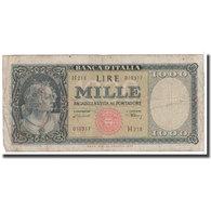 Billet, Italie, 1000 Lire, 1947, 1947-08-05, KM:72c, B - [ 2] 1946-… : Républic