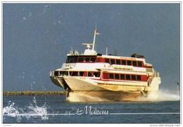 Macau To Hong Kong - Jetfoil - Hydroglisseur - Hydrofoil - China ( 2 Scans ) - China