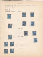AN 1929 No 257, COMEMORATIFS DU 5eme CENTENAIRE DE LA DELIVRANCE D'ORLEANS PAR JEANNE D'ARC  - BLEUP - Francia