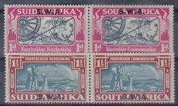 SOUTH AFRICA 1938 Voortrkker Commemoration Complete Set 2v In Pairs  1d MNH - 1 1/2d MH - Afrique Du Sud (...-1961)