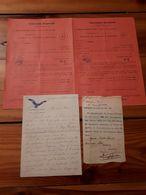 1918/1963 MILITARIA Lotto Materiale CORPO ALPINI BATTAGLIONE CERVINO - VEDI FOTO - Documenti