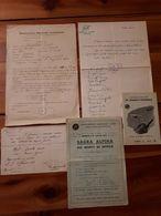 1919/1967 MILITARIA Lotto Materiale CORPO ALPINI BATTAGLIONE CERVINO - VEDI FOTO - Documenti