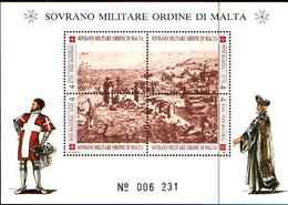 91720)  SOVRANO MILITARE ORDINE DI MALTA  ANTICHE FORTEZZE-1993. - BF 41-MNH** - Sovrano Militare Ordine Di Malta