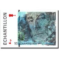 France, 50 Francs, échantillon, SPL+ - Fouten