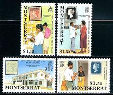 "Montserrat      ""Penny Black Annv.""      Set    SC# 741-44      MNH - Montserrat"
