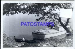109230 MEXICO HELP VISTA PARCIAL & BOAT POSTAL POSTCARD - Mexique
