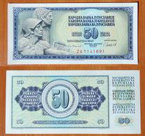 Yugoslavia 50 Dinars 1981 Replacement GEM UNC - Yougoslavie