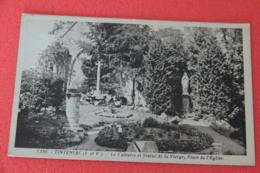 35 Tinténiac Le Calvaire Et La Statue De La Vierge NV - Other Municipalities