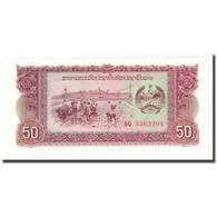 Billet, Lao, 50 Kip, Undated (1979), KM:29r, NEUF - Laos