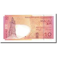 Billet, Macau, 10 Patacas, 2005-08-08, KM:80, NEUF - Macao