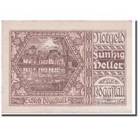 Billet, Autriche, Pöggstall, 50 Heller, Paysage, 1920, 1920-04-27, SPL - Autriche