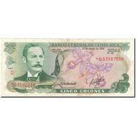 Billet, Costa Rica, 5 Colones, 1992-01-15, KM:236e, TB+ - Costa Rica