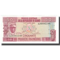 Billet, Guinea, 50 Francs, 1960, 1960-03-01, KM:29a, NEUF - Guinea