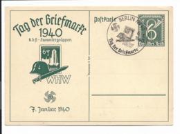 DR P 288 - 6 Pf WHW Tag Der Briefmarke Danzig Mit Bl Sonderstempel Berlin NW 40 - Deutschland