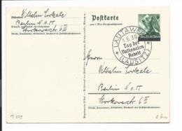 DR P 279 - 6 Pf 1. Mai Großdeutschland M. SST Lautawerk (Lausitz) Tag Der Bnationalen Arbeit Adress - Deutschland
