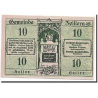 Billet, Autriche, Zeillern, 10 Heller, Paysage, SPL, Mehl:1263d - Autriche