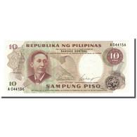 Billet, Philippines, 10 Piso, Undated (1969), KM:144a, NEUF - Philippines