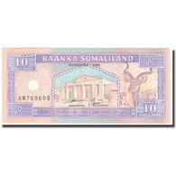 Billet, Somaliland, 10 Shillings = 10 Shilin, 1996, 1996, KM:2a, NEUF - Somalie
