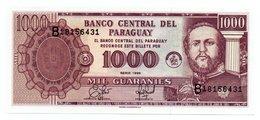 PARAGUAY=1952   1000  GUARANIES   P-214    UNC - Paraguay