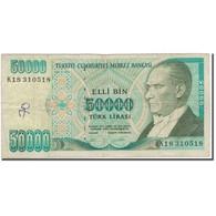 Billet, Turquie, 50,000 Lira, 1970, KM:204, B - Turquie