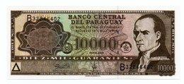PARAGUAY=1952   10.000  GUARANIES   P-216    UNC - Paraguay