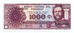 PARAGUAY=1952   1.000  GUARANIES   P-221    UNC - Paraguay