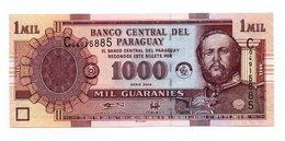 PARAGUAY=2004   1.000  GUARANIES   P-222a    UNC - Paraguay