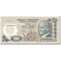 Billet, Turquie, 100 Lira, 1970, KM:189a, SUP - Turquie