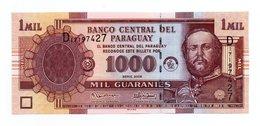 PARAGUAY=2005   1.000  GUARANIES   P-222b    UNC - Paraguay