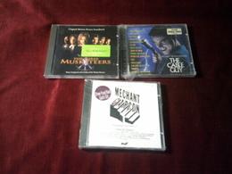 COLLECTION DE 3 CD ALBUMS  DE BANDE ORIGINAL DE  FILM ° THE CABLE GUY + MECHANT GARCON + GLADIATOR - Musique & Instruments